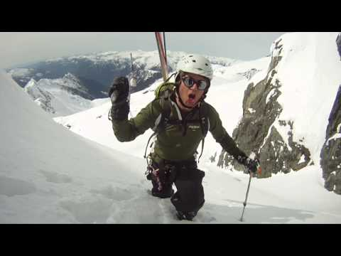 Steep Couloirs & Ski Mountaineering in Tantalus Range, Squamish, BC