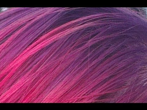 How to dye a gradient in your hair from purple to red youtube how to dye a gradient in your hair from purple to red youtube junglespirit Choice Image