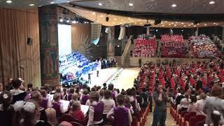 зал церковных соборов Храма Христа Спасителя - поем и танцуем всем залом!