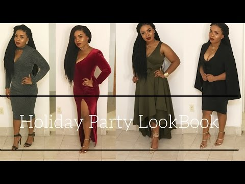 Holiday Party 2016 LookBook- Christmas And New Years Feat. Fashion Nova, Boohoo, Primark And More