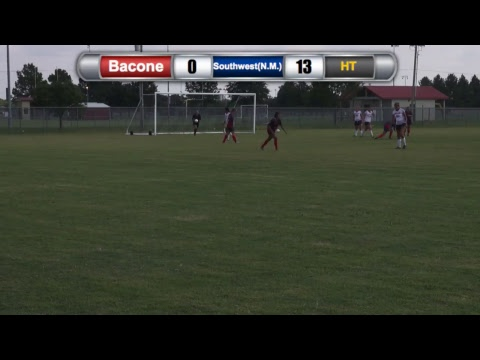 Bacone College Women's Soccer vs University of the Southwest(N.M.)