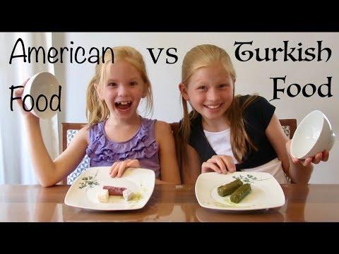 American vs Turkish Food Challenge