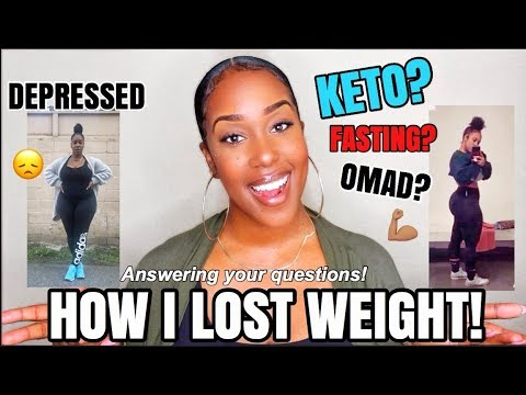 how-i'm-losing-weight!!!-|-answering-your-q's!-|-keto?-intermittent-fasting?-omad?