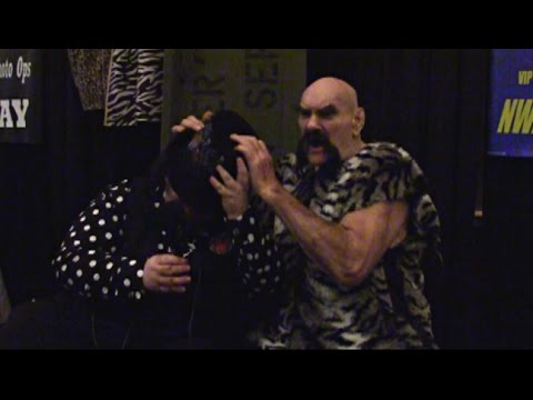 Ox Baker promo and behind the scenes footage