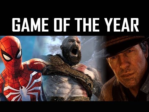GAME OF THE YEAR 2018 (GOTY)