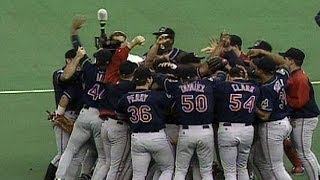 ALCS Gm6: Indians win 1995 American League pennant