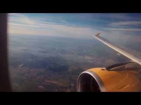 Flight: Vueling 1223 Barcelona-Amsterdam *Full Flight* And comeback to barcelona
