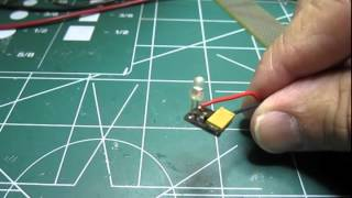 Very simple LED flasher circuit