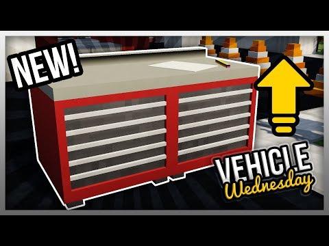✔️ MrCrayfish's Vehicle Mod: Upgraded Workstation! (Vehicle Wednesday)