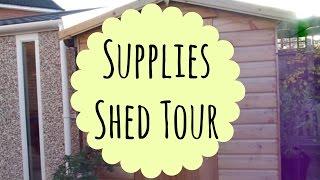 Guinea Pig Supplies Shed Tour