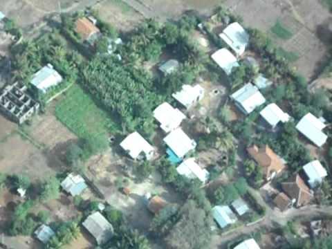 Flight Landing In jaffna,sri lanka