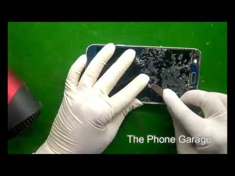 Samsung E7 Broken Glass Replacement using LOCA UV Glue