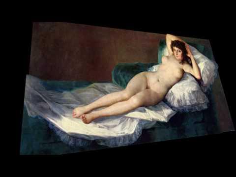 La Maja Desnuda De Goya Presentación En 3d