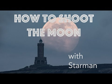 How To Photograph The Moon In Twilight Tutorial