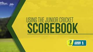 How to Score a Stage 1 Game - Kiama Cricket Club