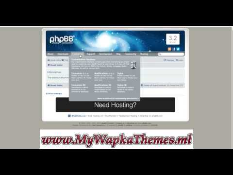 How To Upload And Activate PHPBB Extentions On Whogohost