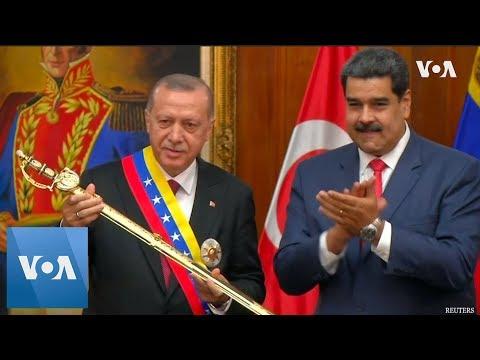 Turkey's Erdogan Meets with Venezuela's Maduro