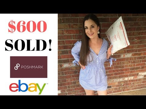 THIS Is Why I Sell MATERNITY & KID'S Clothing On POSHMARK & EBAY!