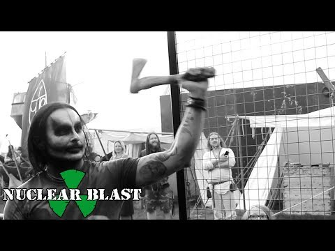 CRADLE OF FILTH - Throwing axes with Dani Filth at Bloodstock Open Air Festival (EXCLUSIVE TRAILER)
