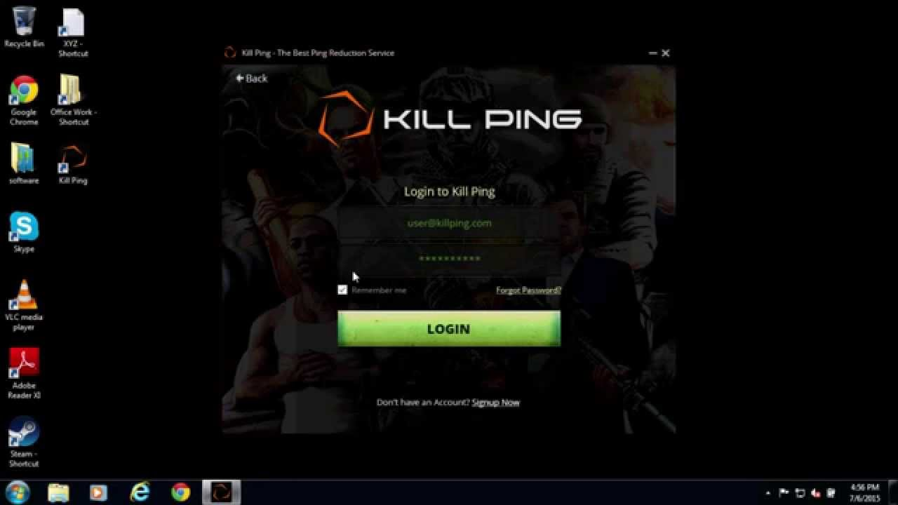 Kill Ping Review - Reduce High Ping & Enjoy Lag Free Gaming