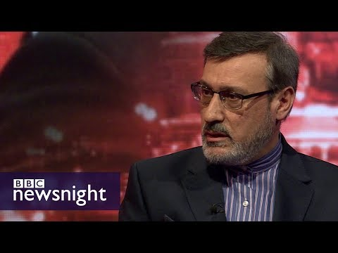 Iran's UK ambassador on Syria - BBC Newsnight