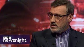 Iran\'s UK ambassador on Syria - BBC Newsnight