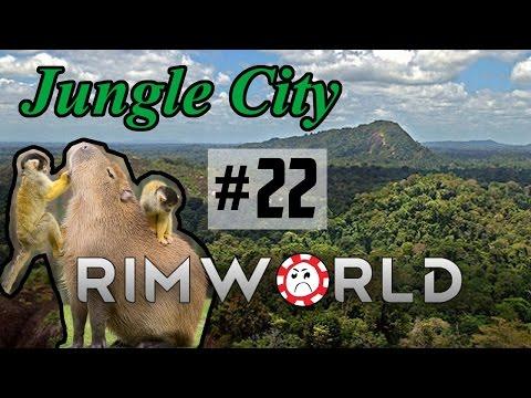 Psychic Sleepwalker [22] Jungle City Rimworld High Pop Challenge