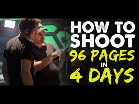 How to Shoot 96 Script Pages in 4 Days - IFH 151