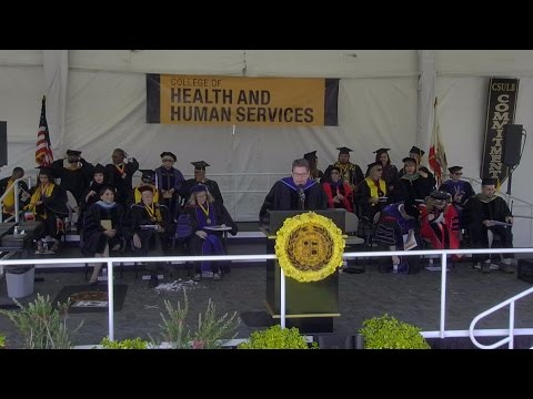 2016 CSULB Commencement - College of Health & Human Services Ceremony 2