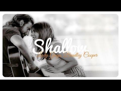 Lady Gaga, Bradley Cooper - Shallow // Lyrics + Deutsche Übersetzung