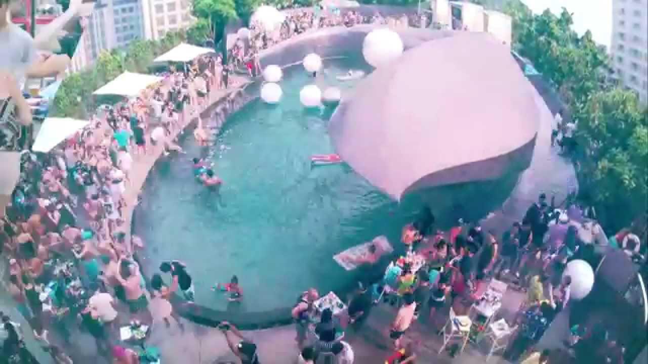 W Bangkok W Songkran Pool Party With Alex Face 2014