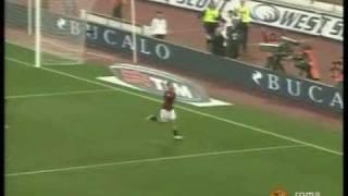 AS Roma vs Catania 7-0  # 19 -11-2006 #  Stadio Olimpico