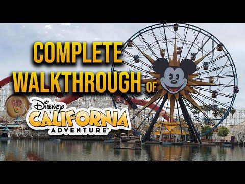 Complete walkthrough of California Adventure 2021