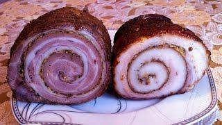 Рулеты из Свинины/Свиной Рулет/Мясной Рулет/Сало в Духовке/Rolls Pork/Простой Рецепт(Ооочень Вкусно)