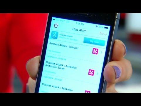 'Red Alert' app warns Israelis of attacks