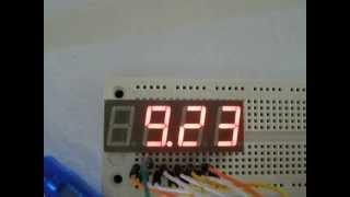 Arduino 4-Digit 7-Segment LED Display - Electronics Hub