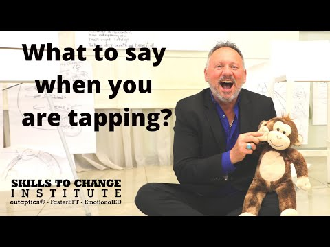 320 WHAT TO SAY WHEN TAPPING?  NO WORDS to describe the EMOTIONS. Robert Gene explains