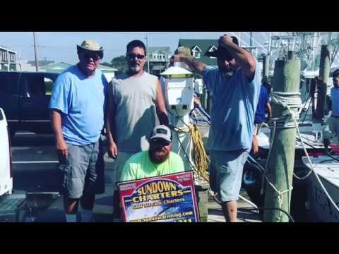 Hatteras Harbor Offshore Fishing For Mahi With Sundown Charters FishinWithFatt