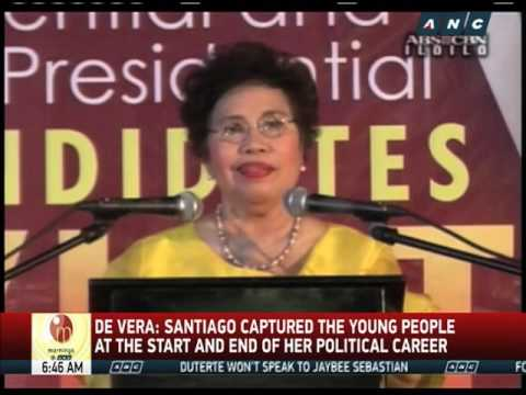 Miriam introduced 'youth vote' to PH politics, analyst says