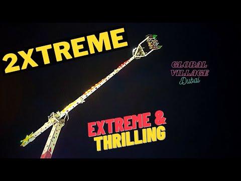 2Xtreme ride | Global Village | Dubai | 4K UHD