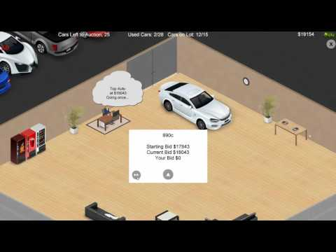 Auto Dealership Tycoon    First Look    (English)
