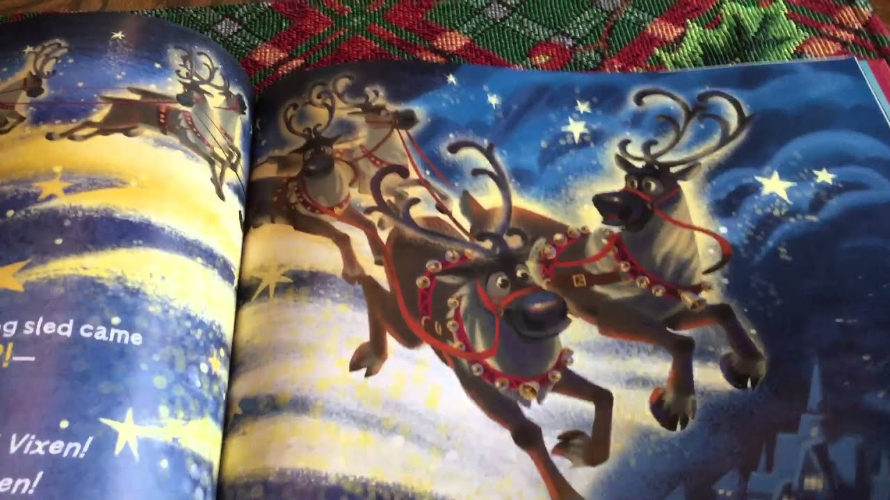 olafs night before christmas - Night Before Christmas Book