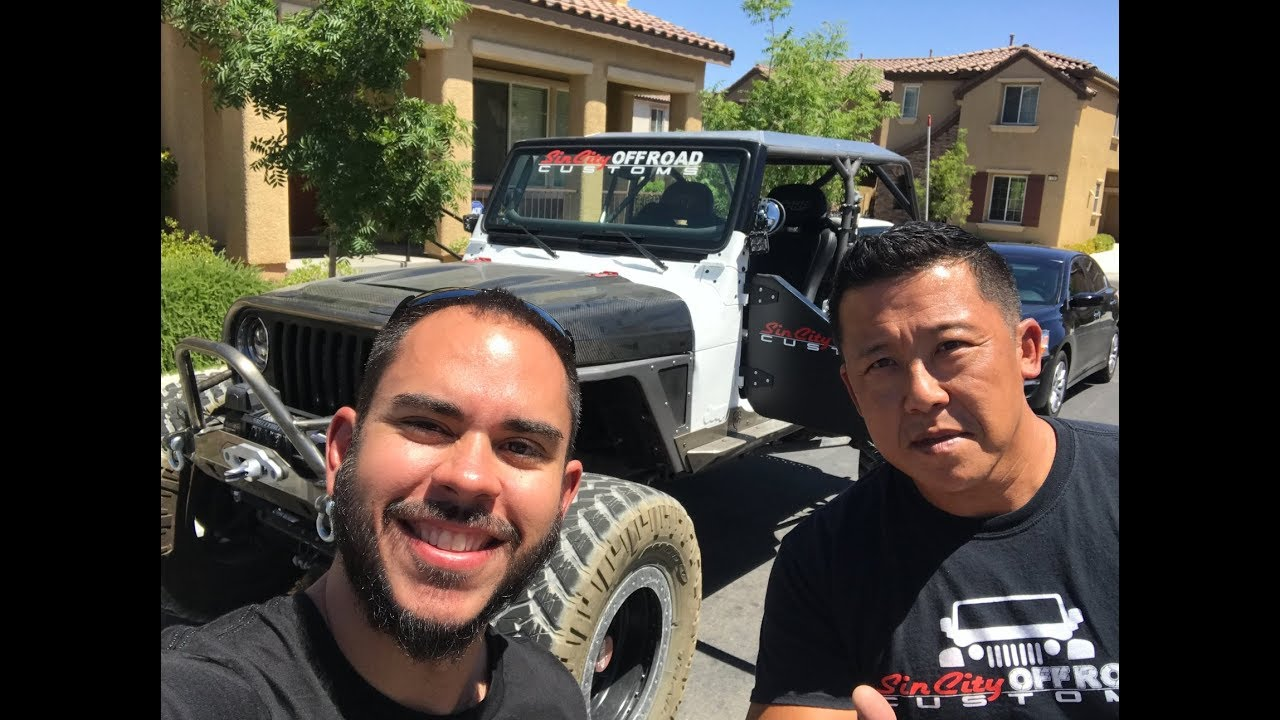 Entrevista Com Dennis da Sin City Offroad Customs!!!
