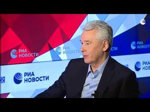 Интервью Сергея Собянина Дмитрию Киселеву