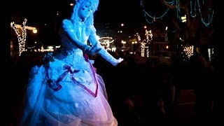 """Angelique """"The Living Music Box"""" at Christmas In The Village in La Mesa, CA -  Nikon D5000"""