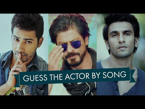 Guess the Actor  Song  Bollywood  Ready For the Challenge
