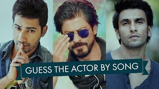 Guess the Actor By Song | Bollywood | Ready For the Challenge