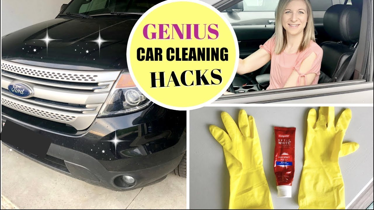 Clean Car Hacks Tips Easy And Fast Ways To Get Your Car Clean