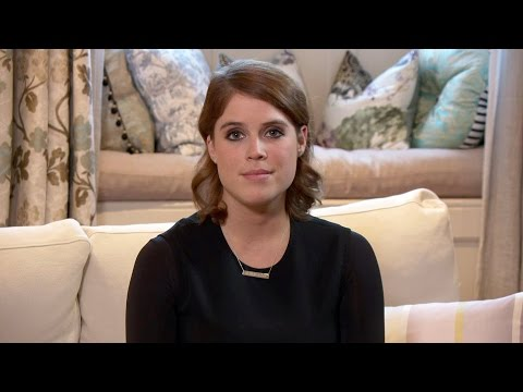 HRH Princess Eugenie supports The Salvation Army's anti-slav