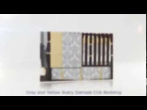 Damask Baby Bedding And Crib Sets
